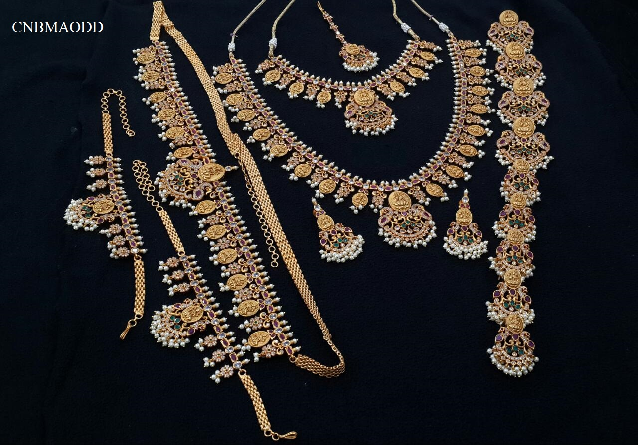 BRIDAL TEMPLE JEWELRY